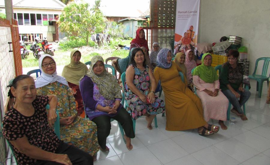 CIta Sehat Palembang Bentuk Club Hipertensi Wong Kito bagi Warga Kelurahan 13 Ulu