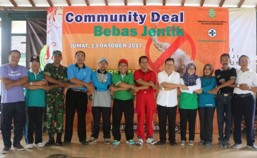 Libatkan 44 Dusun, Srandakan Komitmen Jadi Wilayah Bebas Jentik