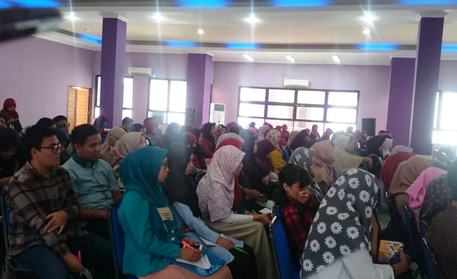 Peserta Talkshow LPDP FKM Unsri Palembang