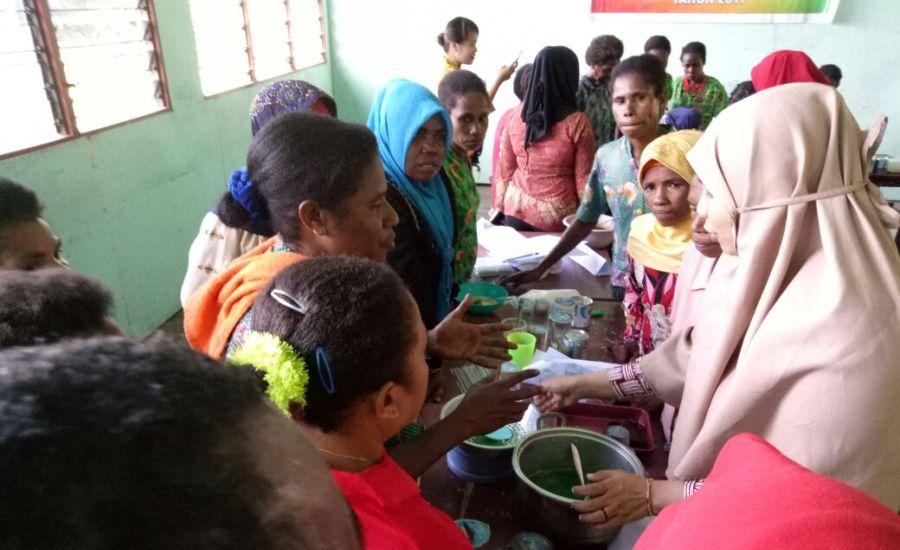 pelatihan pembuatan makanan sehat