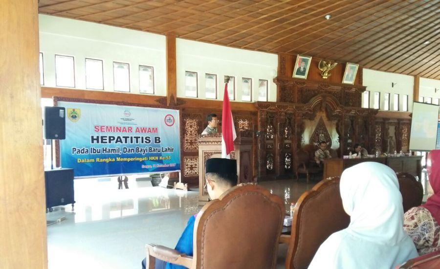 290 Orang, Kader dan Bumil di Sragen Ikuti Seminar Awam Hepatitis B