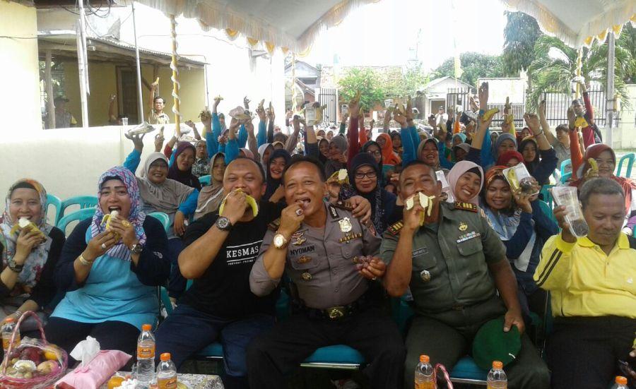 Meriahnya Peringatan HKN ke 53 dan Pencanangan Germas UPTD Puskesmas Krangkeng