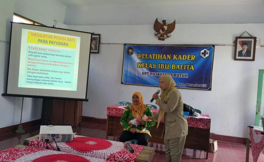 Pelatihan kader Posyandu PKM Butuh