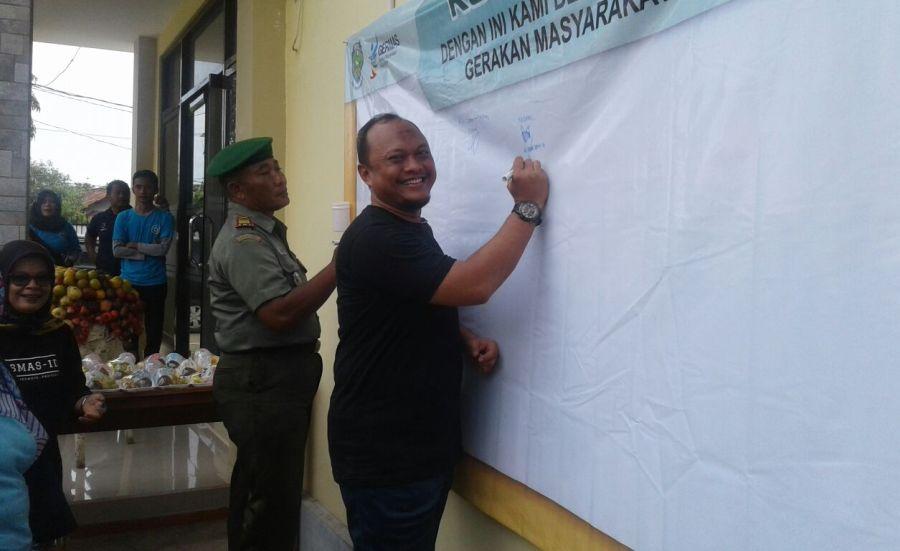 Pencanangan Germas di Kec Krangkeng Indramayu