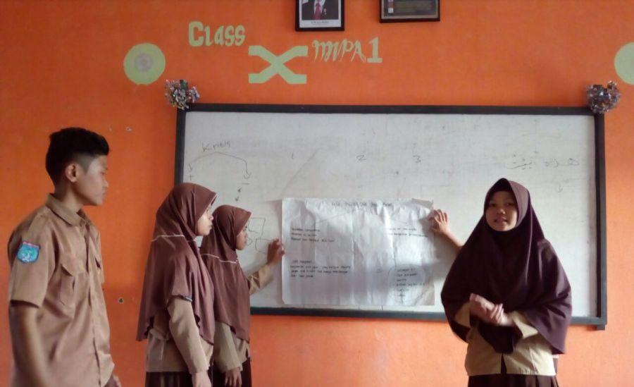 Pencerah Nusantara Upgrade Pengetahuan Kader Posyandu Remaja SARABBA SMAN 1 Bambalamotu