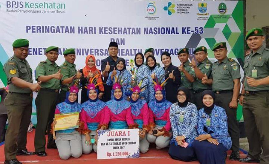 Penghargaan untuk 5 kecamatan dalam HKN ke-53