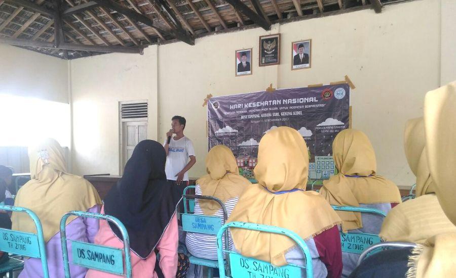 Peringati HKN KE-53, BEM UAD Adakan Bakti Sosial Untuk Masyarakat Gunung Kidul