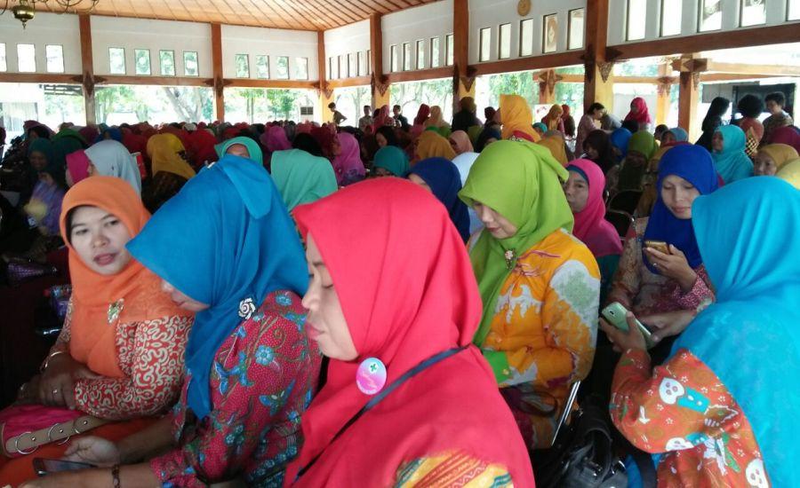 Peserta Seminar Kesehatan Hepatitis B di Sragen
