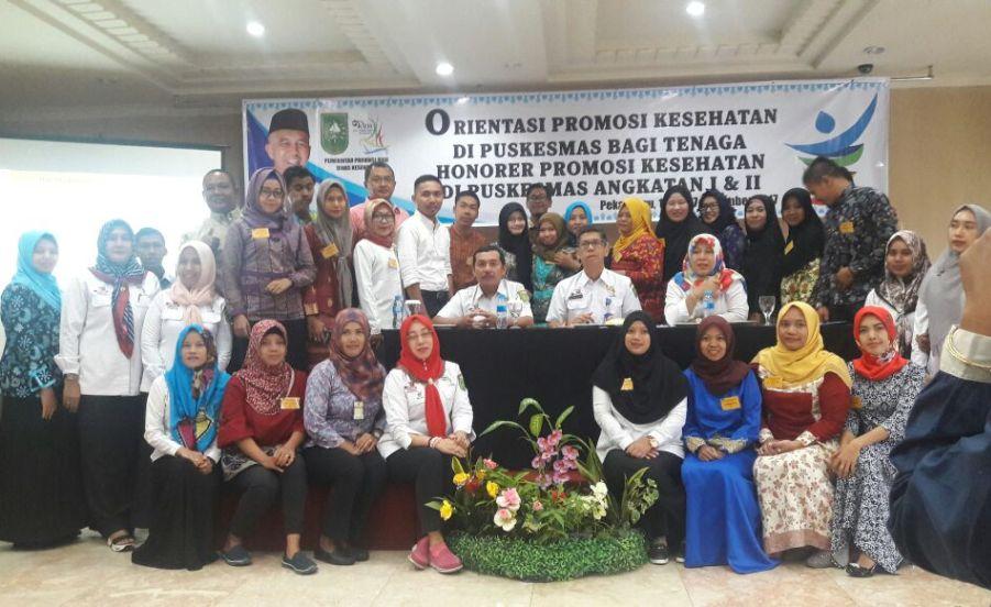 Tenaga Promkes Puskesmas Prov Riau