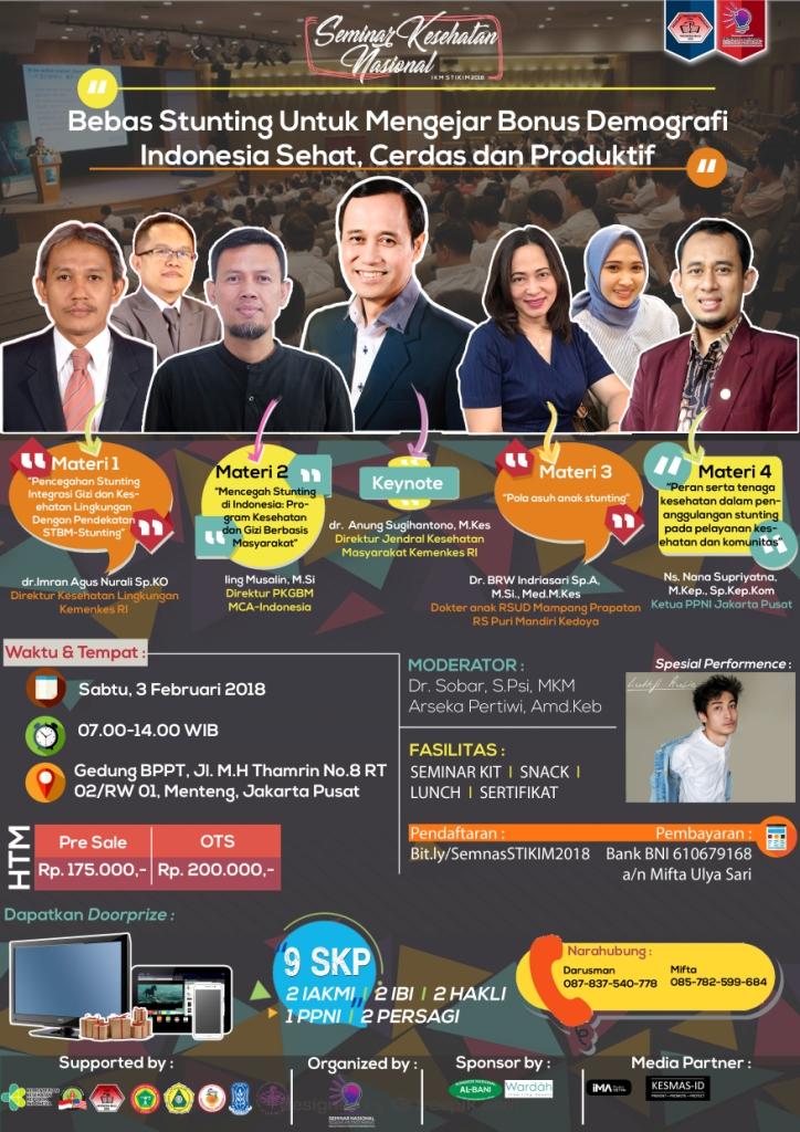 Bebas Stunting Untuk Mengejar Bonus Demografi Indonesia Sehat, Cerdas dan Produktif