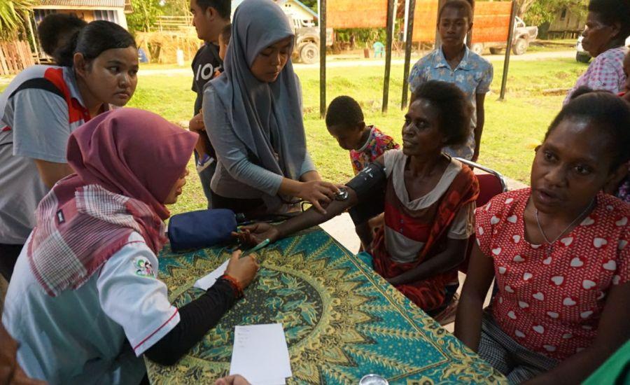 Dalam Rangka HKN ke-53, Dinkes Prov Papua Barat Lakukan Kegiatan PKBM di Kais Darat