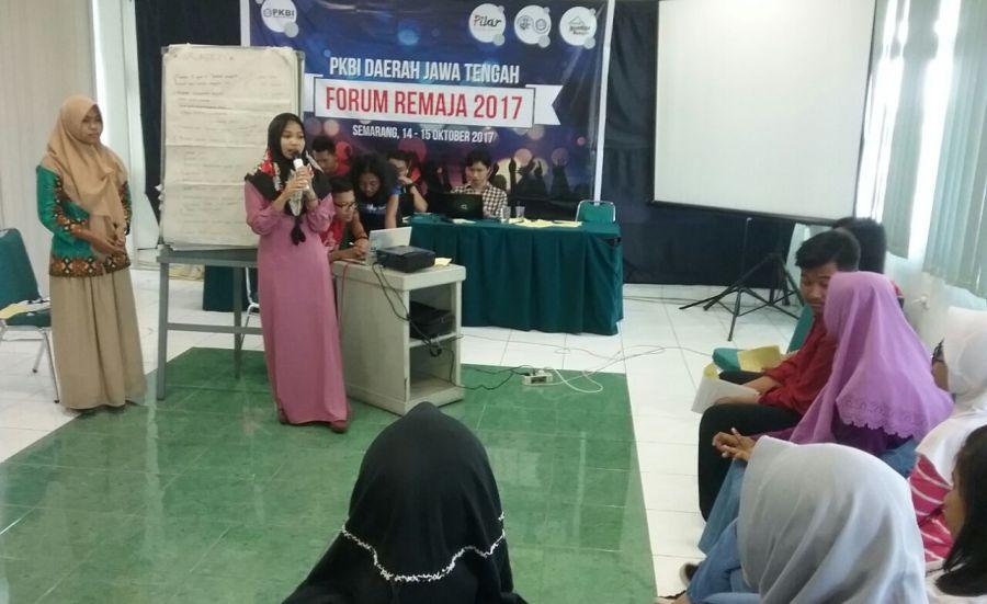 Forum Remaja PKBI Jateng 2017