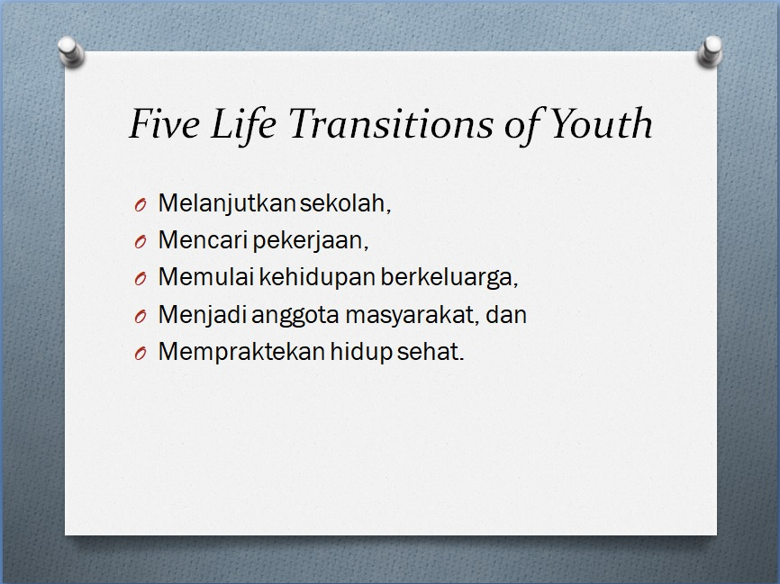 5 Life transition of Youth