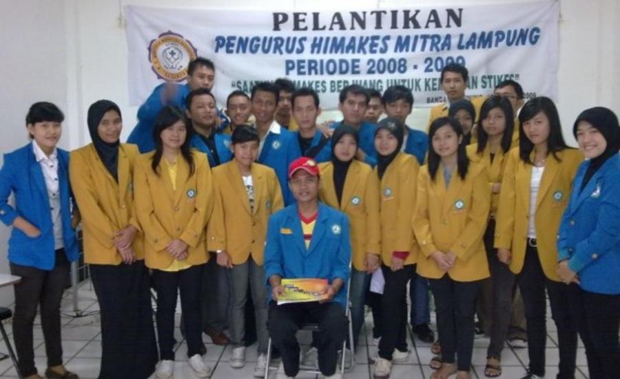 Pelantikan Pengurus HIMAKES Mitra Lampung 2008 2009