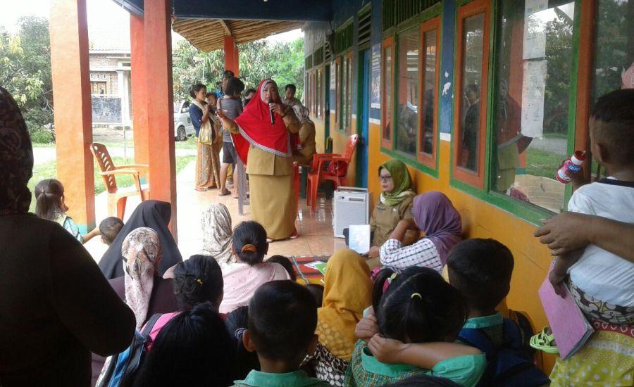 Penyuluhan Luar Gedung PKM Krangkeng