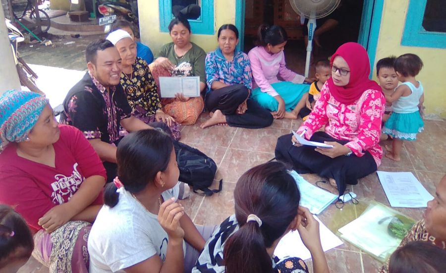 Puskesmas Krangkeng Cari Tahu Kebutuhan dan Harapan Masyarakat Lewat Program Menyapa Masyarakat