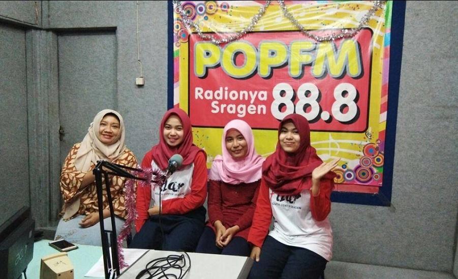 Talkshow Bareng PILAR Sragen di Acara Nongkrong Komunitas POP FM Sragen