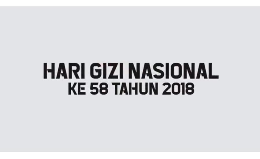hari gizi nasional ke 58 tahun 2018