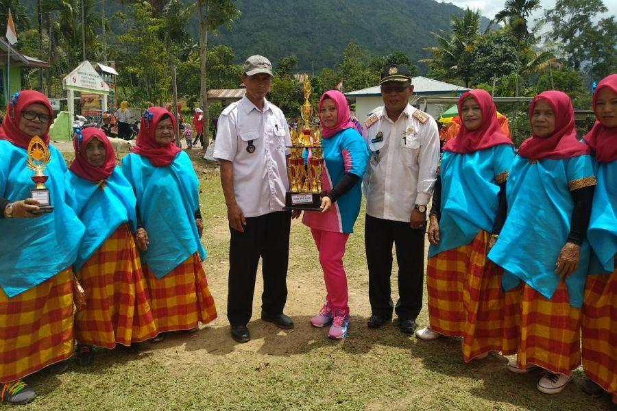Dukung Program Germas, 2 Desa Ini Adakan Lomba Senam Sehat Antar Dusun!