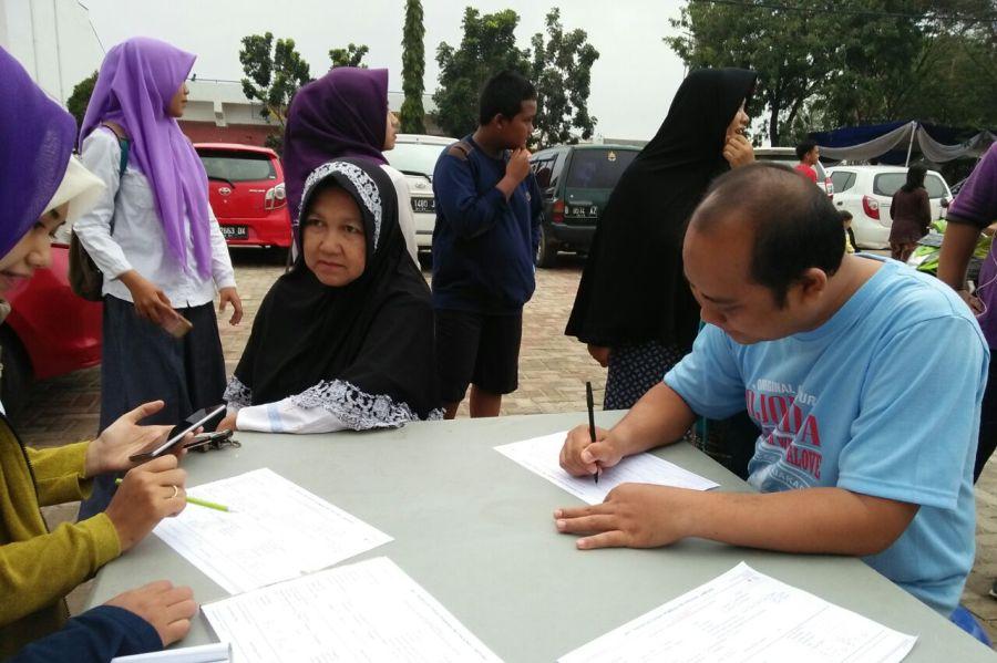 Donor Darah Dalam Rangka hari Kanker di Lampung 11 Februari 2018