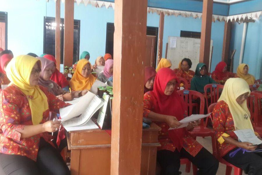 Kader kesehatan Desa Jati Kec Sumberlawang Kabupaten Sragen