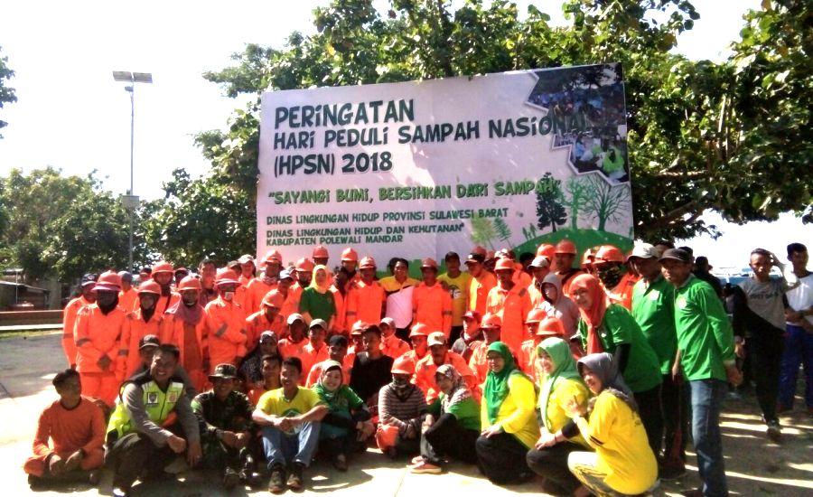 Masyarakat Mandar dalam HPSN 2018