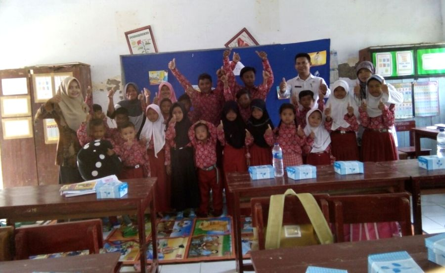 Puskesmas Sukagumiwang Indramayu Edukasi Kesehatan Siswa SDN Cibeber