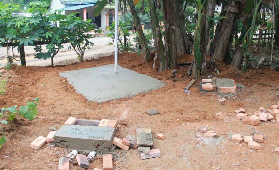 Saluran Pembuangan Air Limbah Warga Desa jilatan