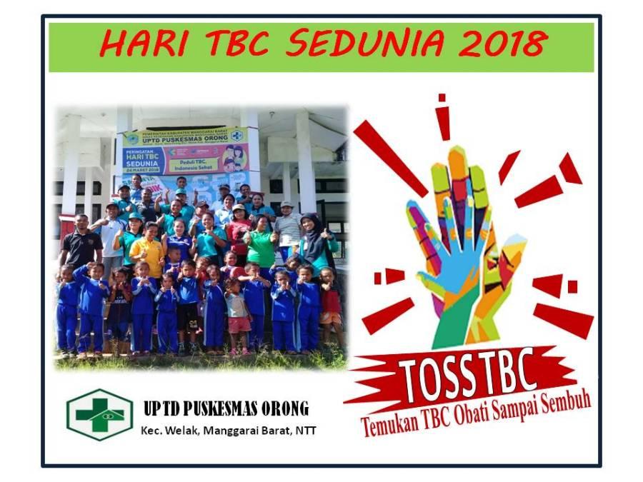 Hari TBC Sedunia Puskesmas orong