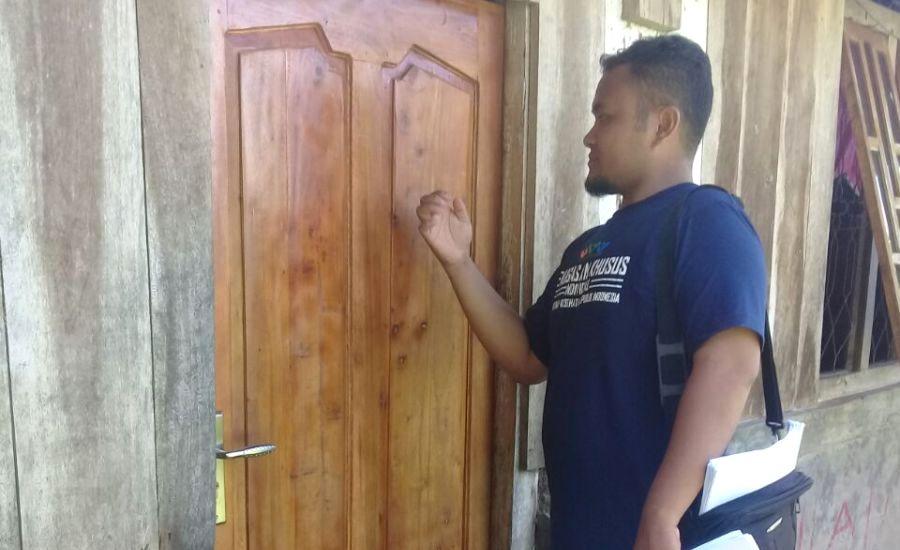 Ketok Pintu TOSS TBC Puskesmas Orong