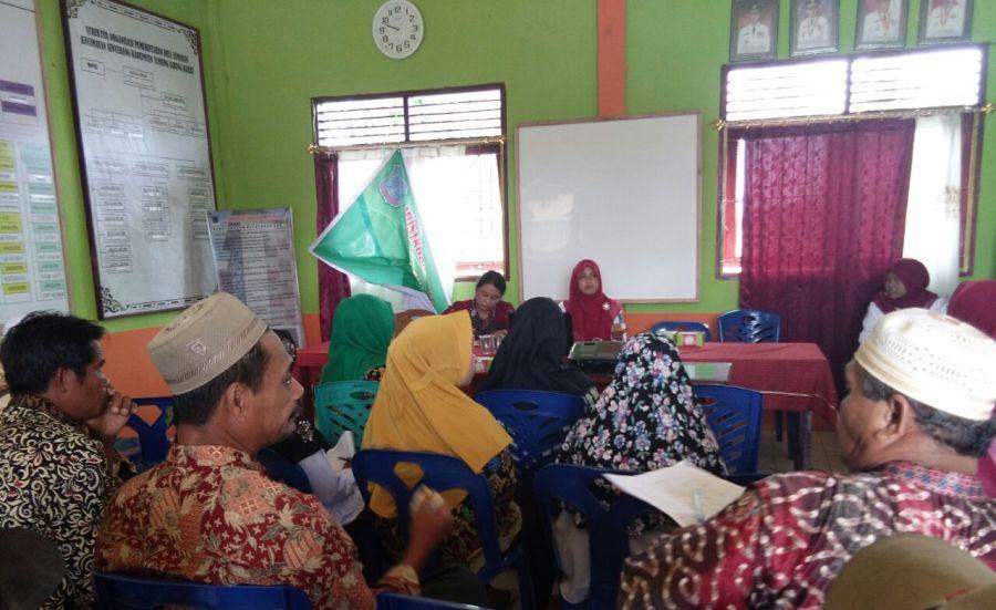 Musyawarah Masyarakat Desa Puskesmas Senyerang