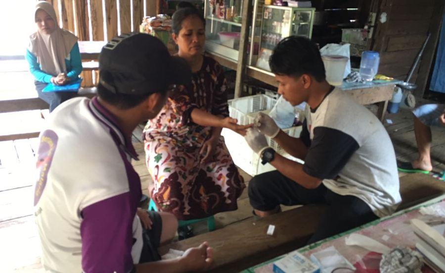 Pemeriksaan Malaria Puskesmas Teluk Kepayang