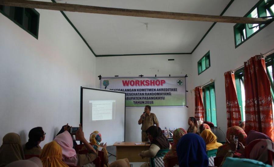 Workshop Penggalangan Komitmen Akreditasi Puskesmas Bambalamotu