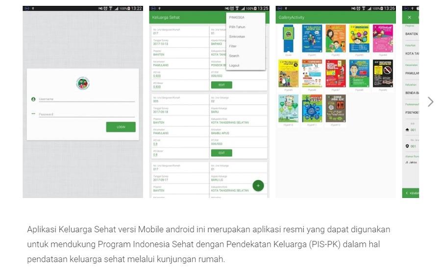 Aplikasi Keluarga Sehat - Play Store