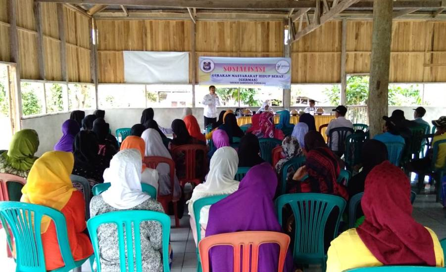 Dukung Germas, Desa Ini Sepakati 9 Point Komitmen Agar Masyarakat Jadi lebih Sehat
