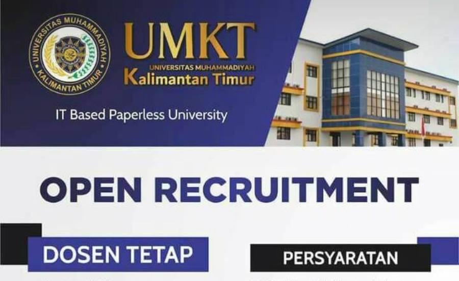 Mau Jadi Dosen Tetap di Universitas Muhammadiyah Kalimatan Timur Buruan Daftar- Cover