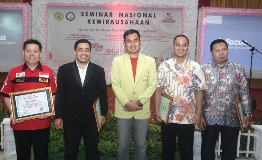 Narasumber Seminar Nasional BEM STIKes Kuningan 2018