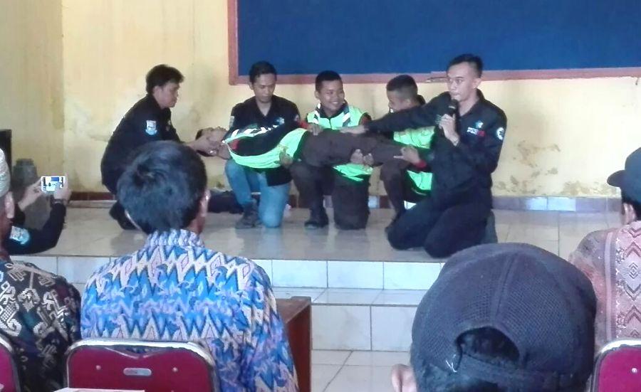 Giat Rutin SBH Mrebet Diisi Latihan Bantuan Hidup Dasar dari PSC 119