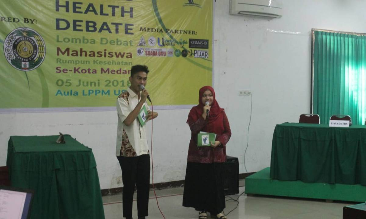 Health Debate FKM USU 2018