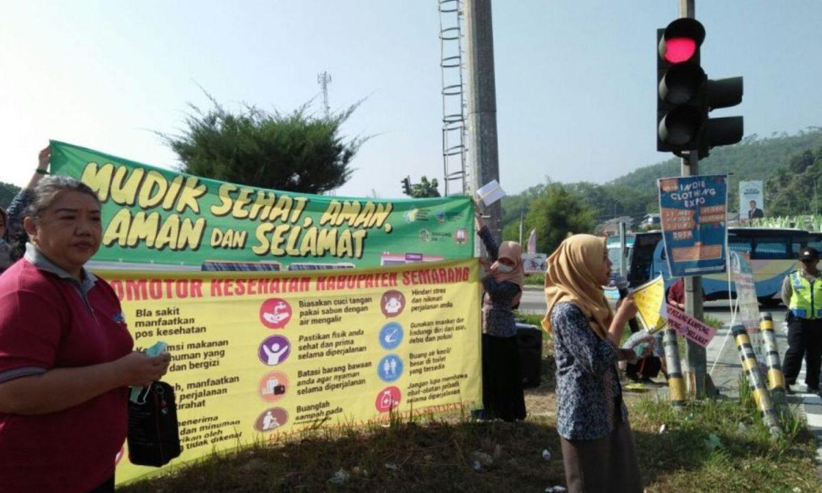 Promotor Kesehatan Kab.Semarang Kampanye Mudik Sehat
