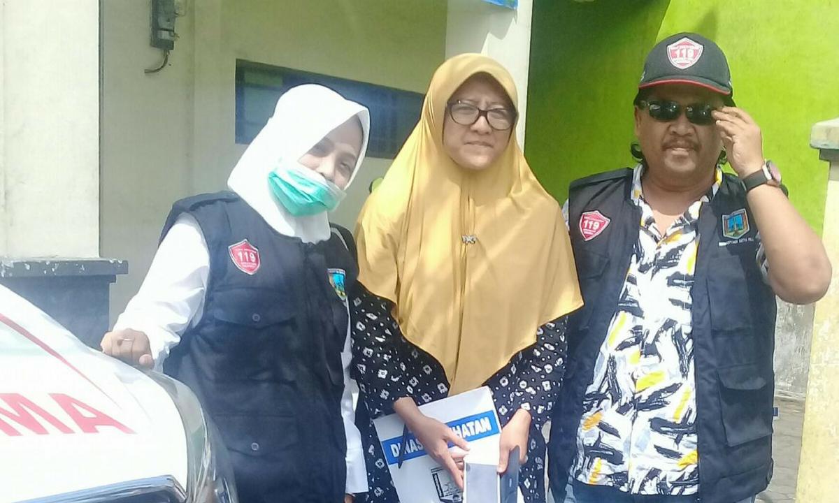 Supervisi dari Dinas Kesehatan Kabupaten Semarang
