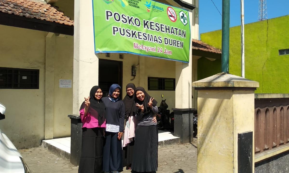Supervisi oleh Sekretaris Dinas Kesehatan Kabupaten Semarang