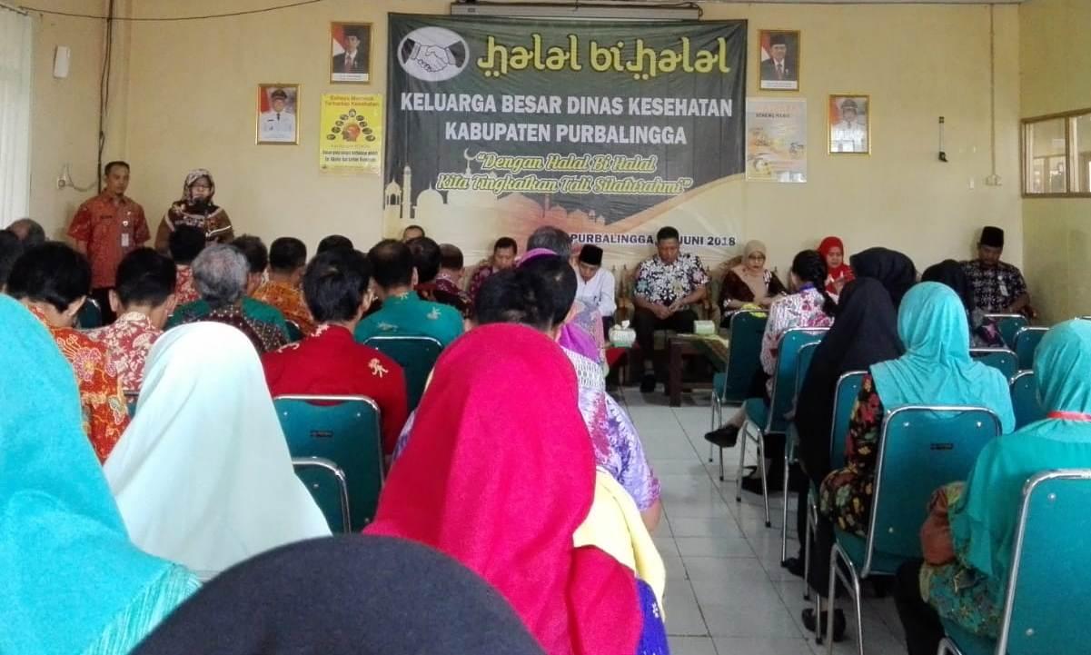 Halal bi Halal Keluarga Besar Dinas Kesehatan Kabupaten Purbalingga 2018