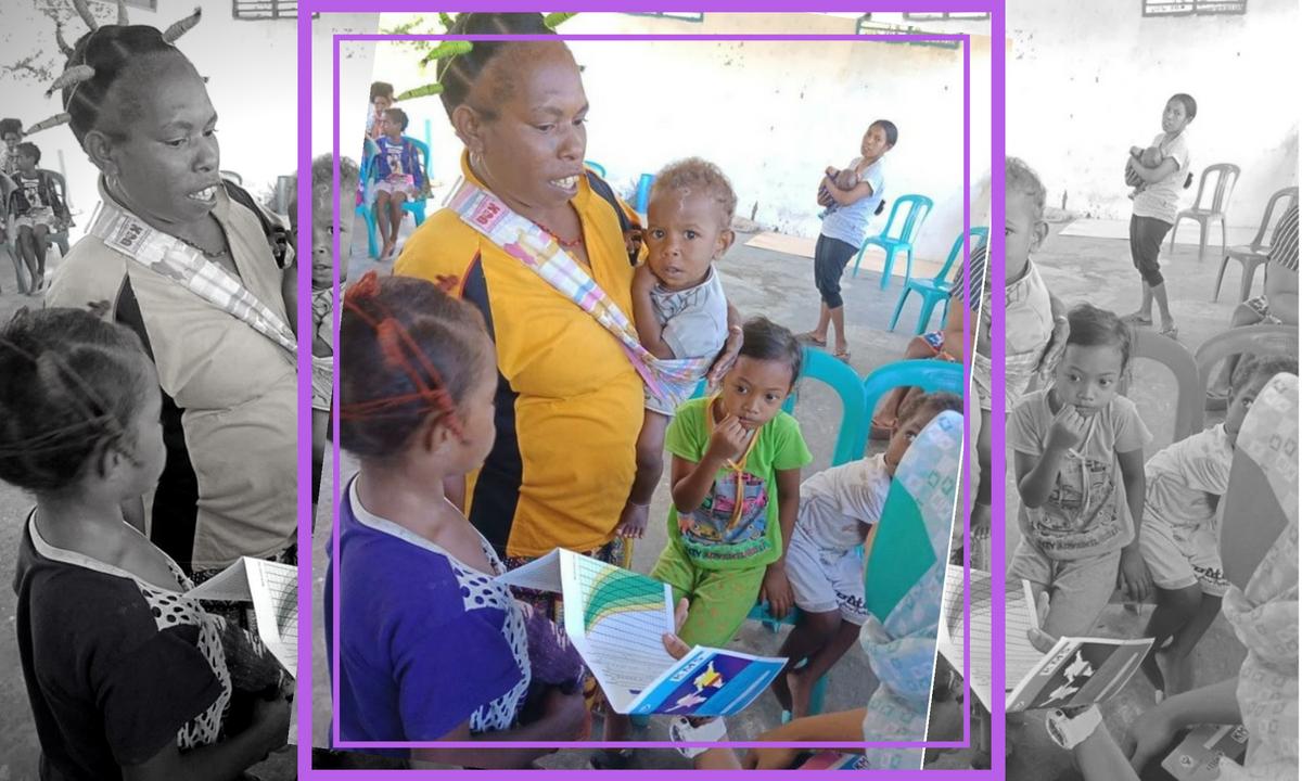 10 Menit Aja! Untuk Periode Emas Anak Papua, Lakukan Hal Ini!