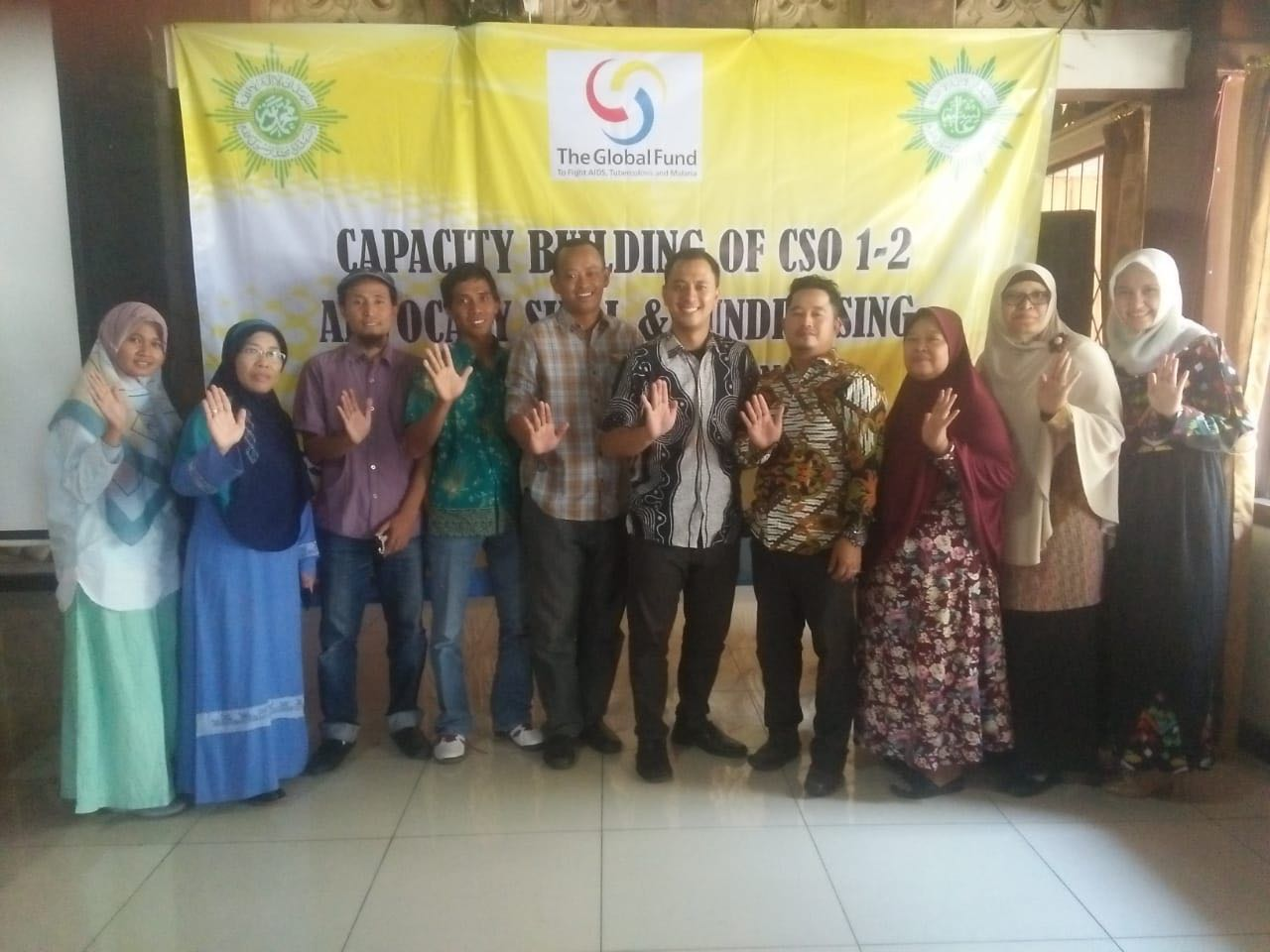 Foto Bersama Peserta Training Media