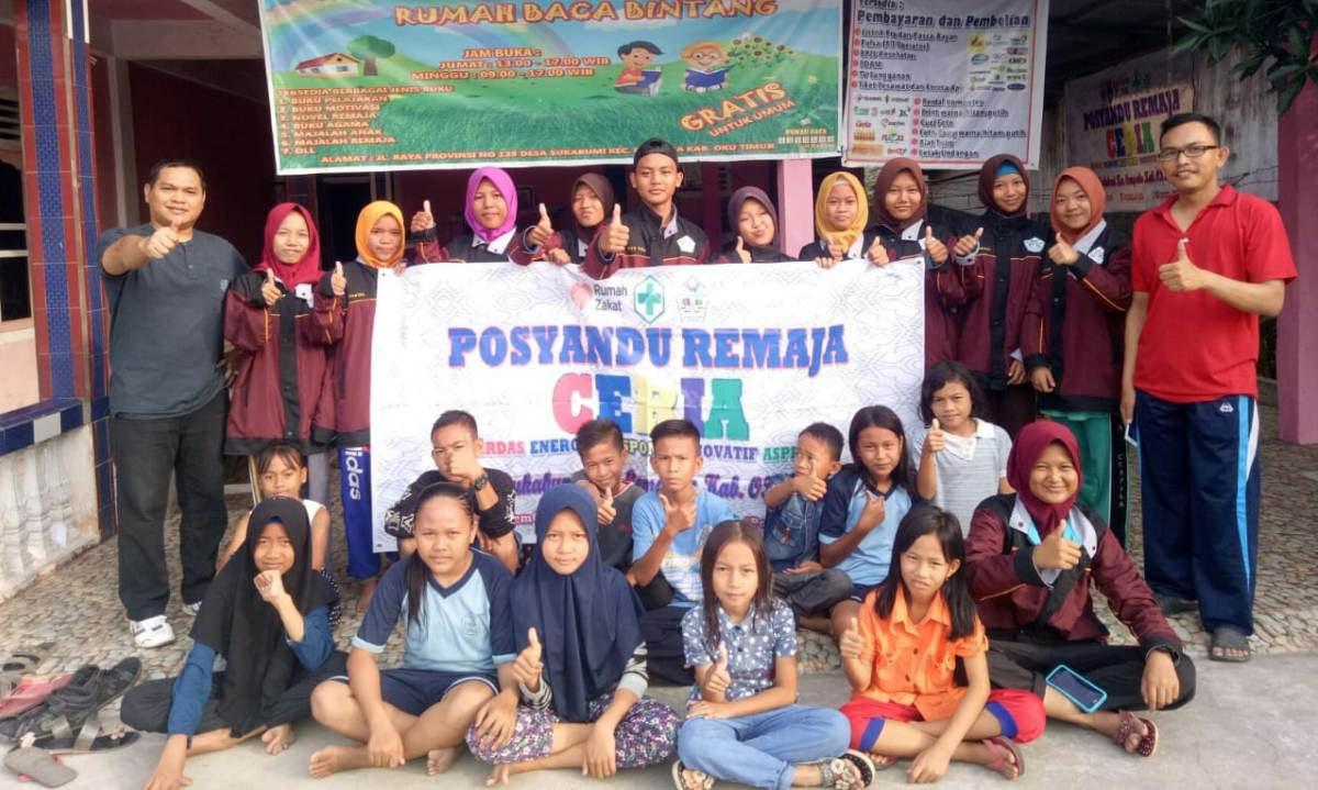 Minggu Sehat bersama Posyandu Remaja Ceria