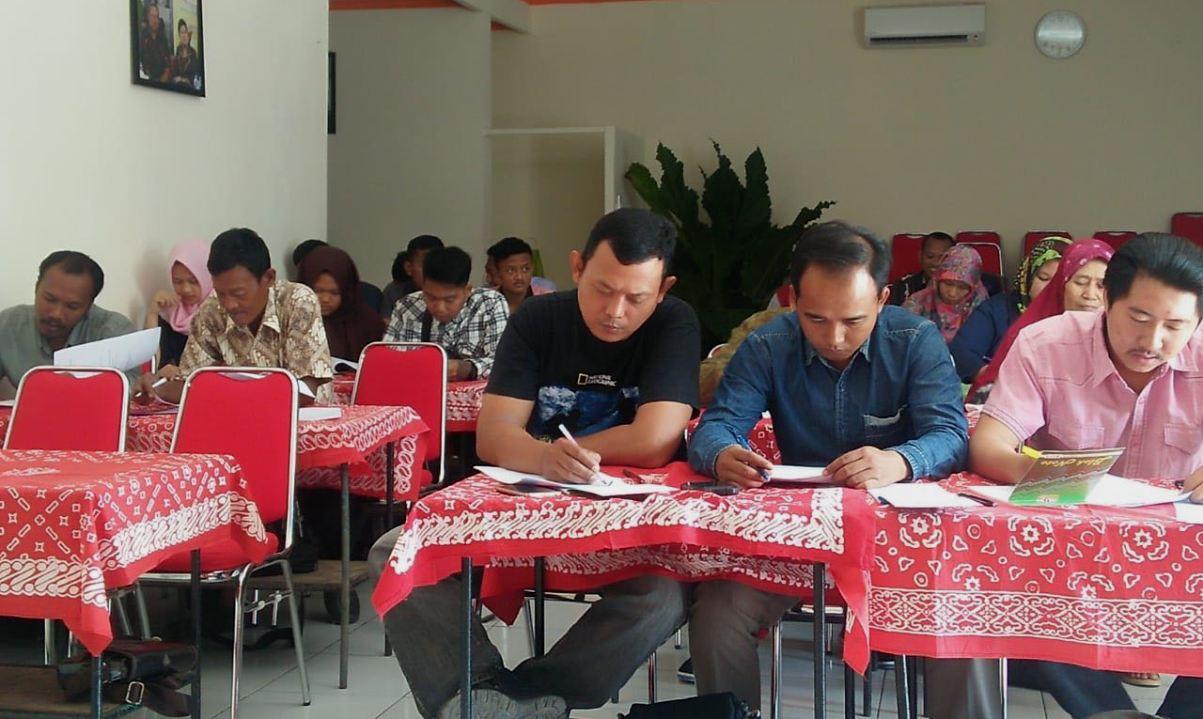 Peserta Pelatihan Relawan Sapu Sragen