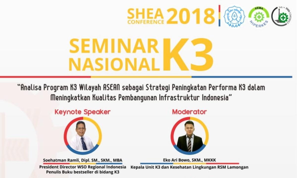 SEMINAR NASIONAL K3 SHEA CONFERENCE 2018-cover
