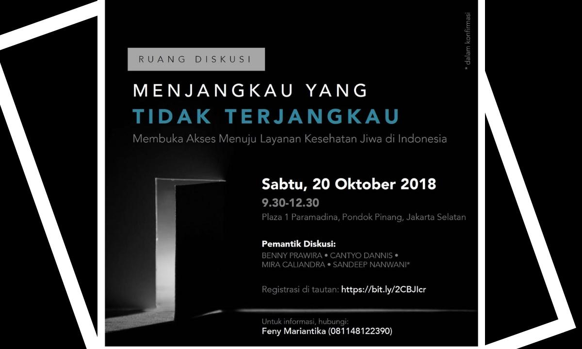 Akses ke Layanan Kesehatan Jiwa di Indonesia