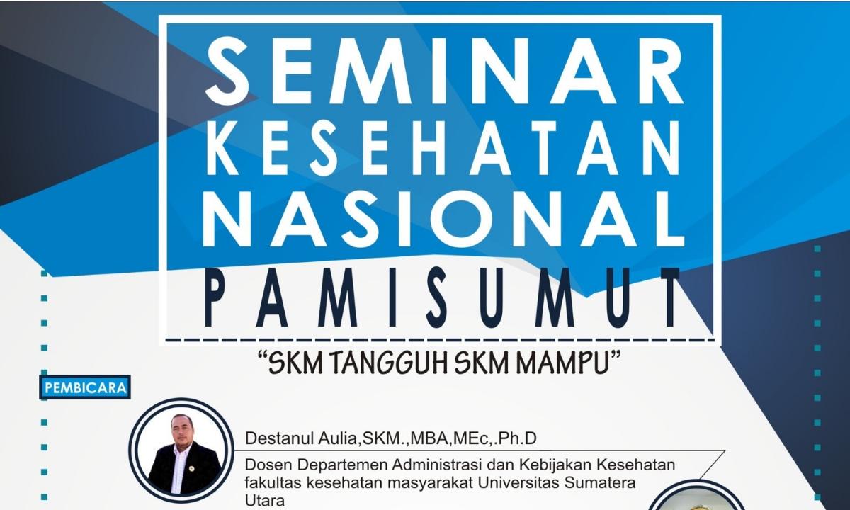 seminar nasional pami sumut oktober 2018